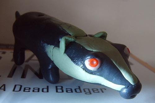 fimo badger