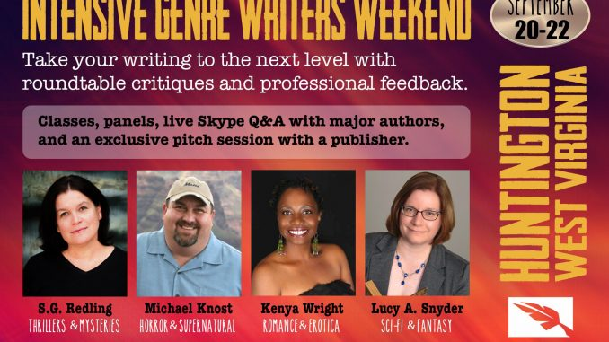 Intensive Genre Writers Weekend Poster