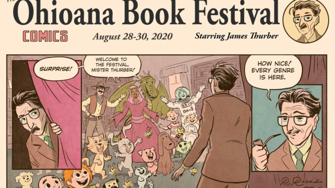 Ohioana Book Festival Cartoon